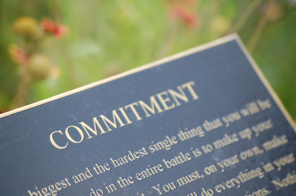 About Communication (7) – Commitment